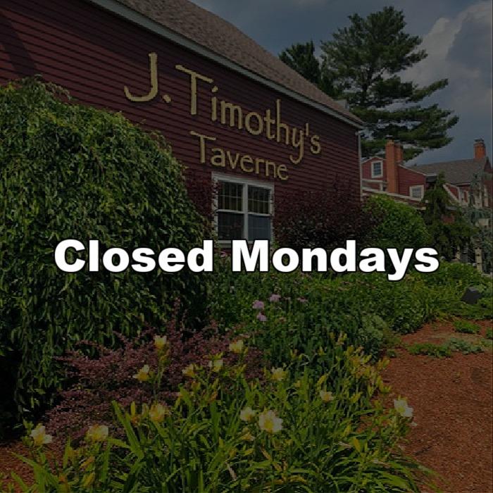 Closed Mondays