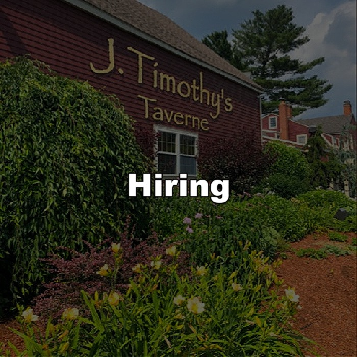 Hiring Kitchen and Guest Services